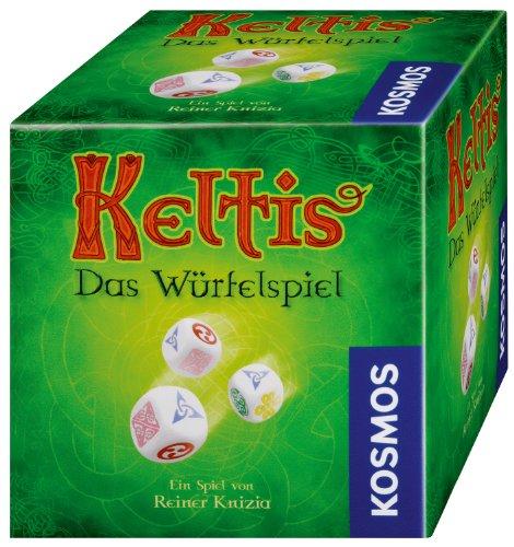 ケルトタイル (Keltis - der Weg der Steine: Würfelspiel) für 2-4 Spieler ボードゲーム