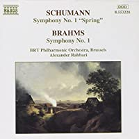 Schumann, R.: Symphony No. 1 / Brahms: Symphony No. 1 by Alexander Rahbari (2004-11-18)