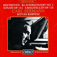 Klavierkonzert Sonate Bagate by LUDWIG VAN BEETHOVEN (2000-09-16)