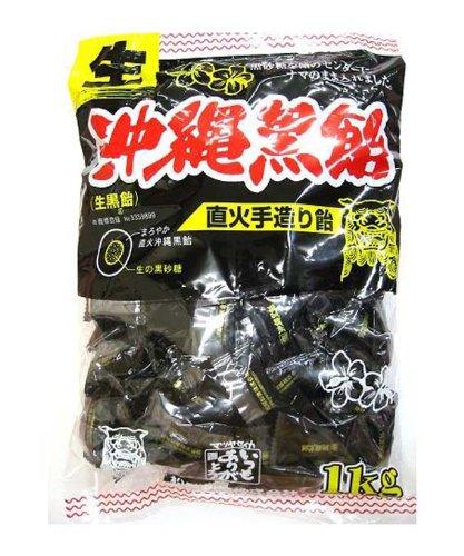 松屋製菓 生沖縄黒飴 1kg