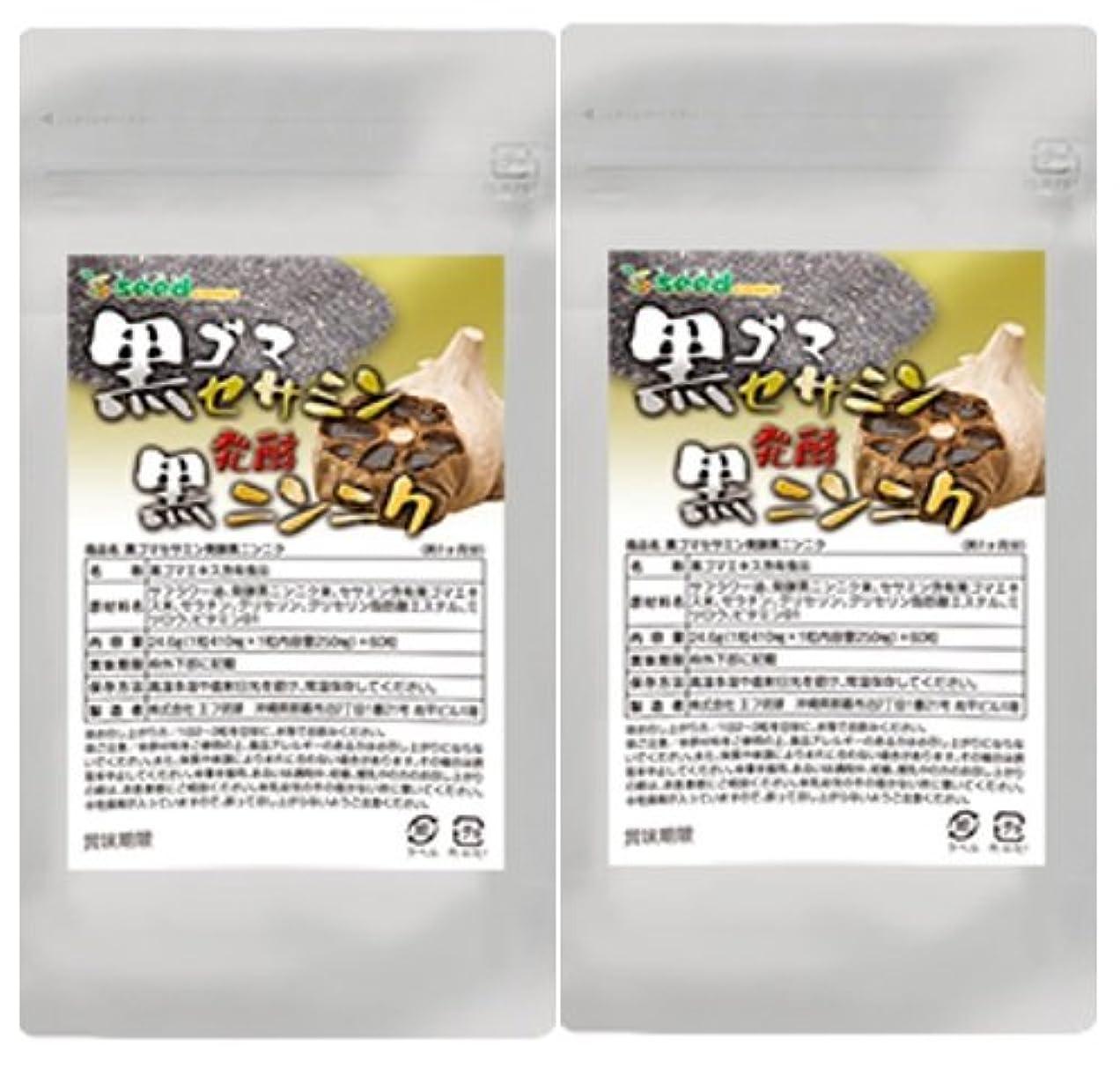 むしろ増強するミリメーター黒ゴマセサミン&発酵黒ニンニク (S-アリルシステイン、DATSを効率よく取り入れる) (約6ケ月分)