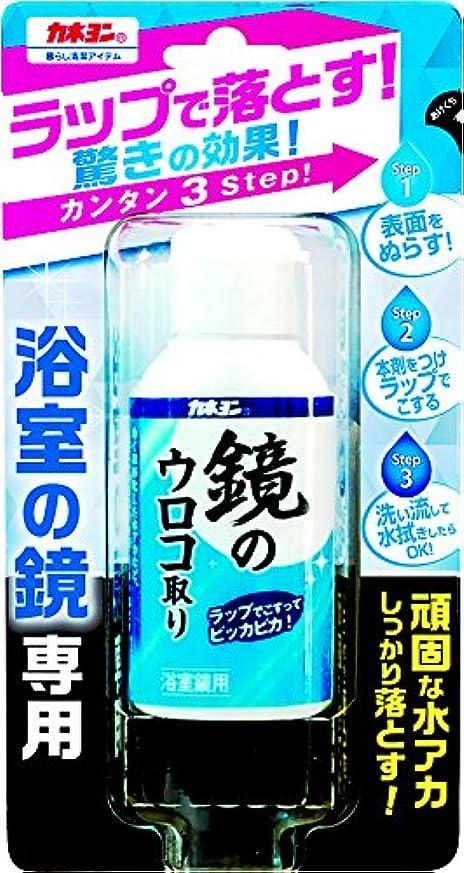 パンフレット楽観的メンダシティカネヨ石鹸 カネヨン 浴室の鏡専用 鏡のウロコ取り 50ml