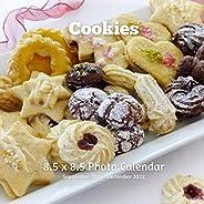 Cookies 8.5 X 8.5 Calendar September 2021 -December 2022: Monthly Calendar with U.S./UK/ Canadian/Christian/Je