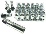 West Coast Accessories W56716S 7/16 Spline Closed End Wheel Lug Nut Installation Kit - 6 Lug [並行輸入品]
