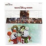 ディズニー クリスマス 2017 リゾート ( スノースノー ) マスクケース ミッキー ミニー マウス マスク 入れ 収納 携帯 ケース リゾート 限定