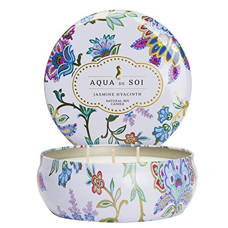 ソフトウェアクリケットアクセスSoi会社Aqua De Soi 100 %プレミアム天然Soy Candle、トリプルWick、21オンス 21 Ounces ホワイト unknown