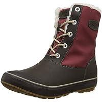 207e285edb0 KEEN Women s Elsa WP-w Snow Boot Syrah Coffee Bean 5 M US