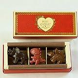 恐竜 チョコレート 詰め合わせ (恐竜・3個入り×1箱) ( いちご ・ ミルク ・ ビター )