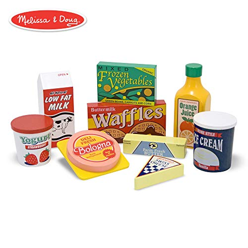 『Melissa und Doug: K?hlschrank Lebensmittel Set (import)』のトップ画像