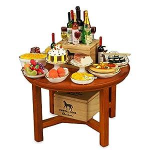 【ロイターポーセリン】【ミニチュア】 パーティーテーブル RP1814-6