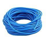 uxcell PUホース ポリウレタン ブルー ポリウレタンホース エアチューブ 圧力ホース 1個入り