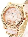贅沢なワガママ叶えます!おしゃれなレディースウォッチ [ SORISSO ] 誕生日プレゼント 腕時計 (ホワイト)