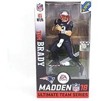 McFarlane(マクファーレン) ニューイングランド?ペイトリオッツ トム?ブレイディ フィギュア EA スポーツ NFL 18 アルティメット チーム シリーズ (Color Rush) -