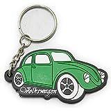 ラバーキーホルダー Volkswagen ワーゲンビートル グリーン