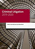 Criminal Litigation 2019-2020 (Legal Practice Course Manuals) 画像