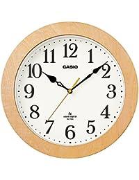 カシオ アナログ電波掛時計 IQ-1108J-7JF