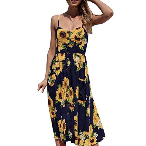 699f89e685fec ドレス 紐 Duglo 無地 レディース 花柄 ワンピース 夏 きれいめ お呼ばれ クラブ 春 セクシー 女性 ノースリップ 可愛い キャバ 礼服  ロング丈 日常 パーティー (XL