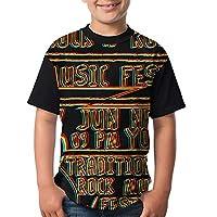 Tシャツ キッズ 通学 ファッション 児童 Tシャツ カジュアル 短袖 カスタマイズ日常着用 Shirt M