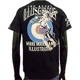 (ローブローナックル) LOWBLOWKNUCKLE×エヴァンゲリオン真希波・マリ・イラストリアス半袖Tシャツ