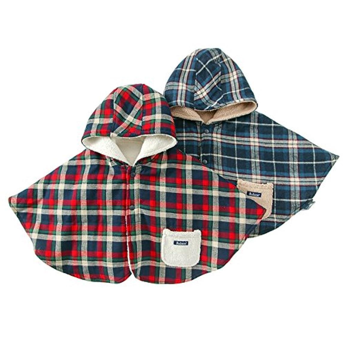 休暇教育戦うBobson (ボブソン ) マント (50~80cm) キムラタンの子供服 (77004-174) ブルー 50~80