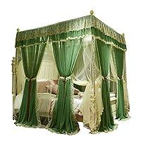 蚊帳寝室の暗号化厚い二重ブラケット1.5 / 1.8 / 2.0 / 1.8 * 2.2メートルベッドダブル家庭用蚊帳 (色 : A, サイズ さいず : 1.8M)