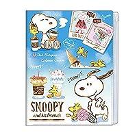 【スヌーピー】6ポケットクリアファイル(カフェ) 503099