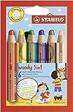 STABILO ウッディセット [woody] 6色セット 8806