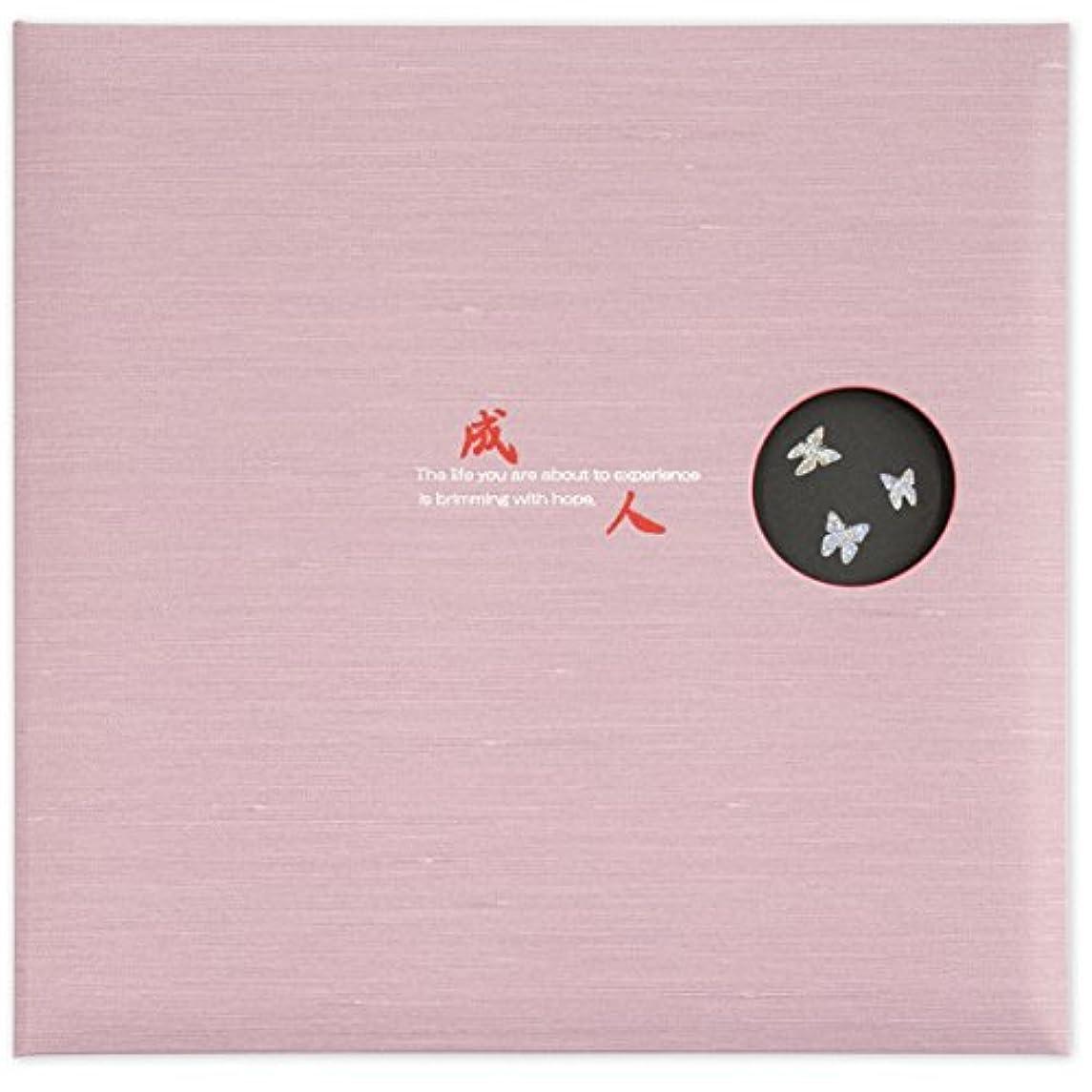 申し立てられた試用番号Izumidaishi 写真台紙 成人 麗 ジャケットサイズ 2面見開きタイプ 選べる中枠付き(中枠クリーム 【6切(1穴)×2枚】【2L (2穴)×0枚】,表紙ピンク)