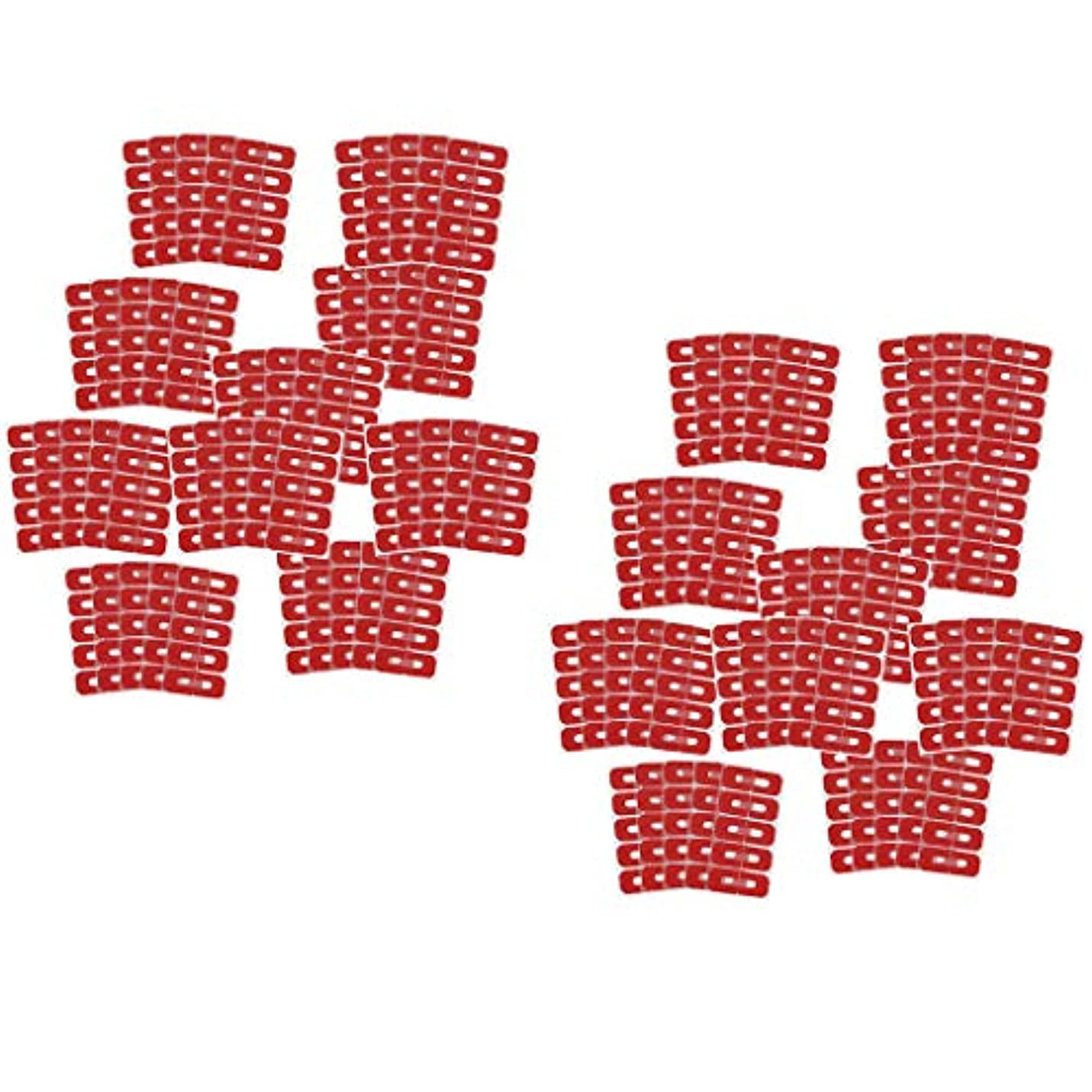 動く音触覚Injoyo ネイルアート マニキュア ネイルカバー ステッカー 使い捨て ネイルアートツール