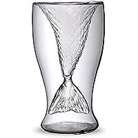 スカル ショットグラス カップ ワイン ビールグラス 美人魚型 コップ