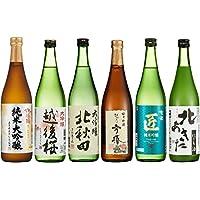 日本酒コンテスト 金賞受賞酒 飲み比べ6本セット 720ml2156本