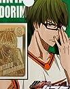 黒子のバスケ DECO META(デコメタ)アニメキャラクターグッズ(携帯デコシール)通販【緑間】