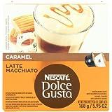 Nescafé Nescafe Dolce Gusto for Nescafe Dolce Gusto Brewers, Caramel Latte Macchiato, 16 Count (Pack of 3) FlavorName: Carame