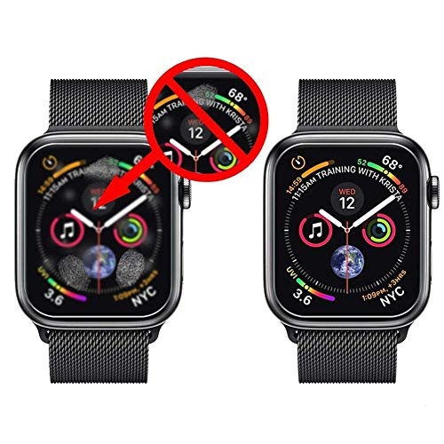 『Apple Watch 44mm フィルム COLIN【全面保護】Apple Watch Series 4 フィルム TPU素材 弧状のエッジ加工 Apple Watch Series 4 保護 フィルム 全面保護 アップルウォッチ フィルム 高透過率 HD画面 Apple Watch Series 4 44mm 対応【2枚入り】 (44MM)』の3枚目の画像