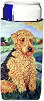 Caroline 's Treasures 7096-parent Airedale Terrier Ultra Beverage Insulators forスリム缶7096 MUK、、マルチカラー Slim 7096MUK