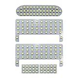 OPPLIGHT ヴォクシー80 ノア80 LED ルームランプ エスクァイア ZWR80 ZRR8# 室内灯 専用設計 爆光 ホワイト カスタムパーツ LED バルブ LEDルームランプ 内装パーツ ヴォクシー/ノア80系 前期 後期 取付簡単 一年保証 (トヨタ ヴォクシー80系 用)