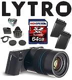 Lytro ILLUMライトフィールドデジタルカメラバンドルW/64GB、Lytroバッテリーb2–0022