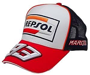 [ MOTO GP ] レプソル ホンダ マルク・マルケス 93 オフィシャル デュアル キャップ