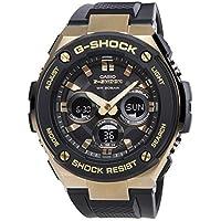 G-SHOCK GST-S300G-1A9 カシオ ゴールドxブラック CASIO 腕時計 メンズ アナデジ ソーラークォーツ G-STEEL Gスチール カシオ メンズ [並行輸入品]
