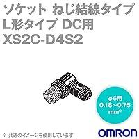 オムロン(OMRON) XS2C-D4S2 Φ5~6用 L形タイプ4極 組立式コネクタ ソケット(ねじ結線)DC用 50個入 NN