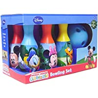 Disney Mickey Mouse Bowling Set and Stickers by Disney