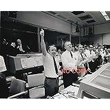 写真、歴史/科学:アポロ13号帰還、歓喜のNASA管制室