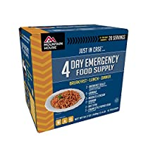 Mountain House 4 Day Emergency Food Supply by Mountain House