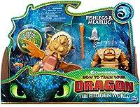 Dreamworks ドラゴンズ 魚の脚 ミートラグドラゴン アーマードバイキングフィギュア 4歳以上の子供用