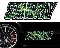 スティングレイstingrayサイドステッカーmkss45/両サイドセット特大/かっこいい上質バイナルグラフィック/ワイルドスピード系デカール