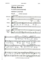 Kenneth Leighton: Missa Brevis (SATB). For 合唱, 混声四部合唱(SATB)