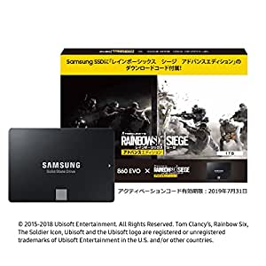 Samsung SSD 1TB 860EVO R6Sダウンロード特典付き 5年保証 正規代理店保証品 MZ-76E1T0B/R6S