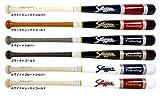 久保田スラッガー 木製 トレーニング バット 硬式実打可能 BAT-25 2506ホワイト×レッド×ゴールド 85cm/1000g平均