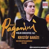 Violin Concertos 1 & 2 by NICOLO PAGANINI (2009-06-09)