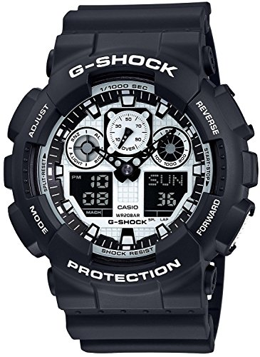 CASIO (カシオ) 腕時計 G-SHOCK(Gショック) GA-100BW-1A メンズ 海外モデル  [並行輸入品]